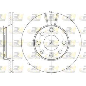 Bremsscheibe Bremsscheibendicke: 20mm, Lochanzahl: 6, Ø: 236mm, Ø: 236mm mit OEM-Nummer 5.69.014