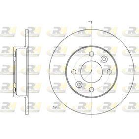 2007 Twingo c06 1.2 Brake Disc 6066.00