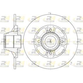 Bremsscheibe Bremsscheibendicke: 8mm, Lochanzahl: 4, Ø: 238mm mit OEM-Nummer 7700805148