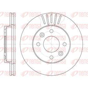 Bremsscheibe Bremsscheibendicke: 20mm, Lochanzahl: 4, Ø: 238mm, Ø: 238mm mit OEM-Nummer 40206 00QAJ