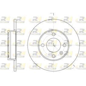Bremsscheibe Bremsscheibendicke: 10mm, Lochanzahl: 4, Ø: 239mm mit OEM-Nummer 811 615 301