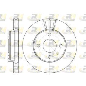 Bremsscheibe Bremsscheibendicke: 22mm, Lochanzahl: 4, Ø: 239mm mit OEM-Nummer 605 14 881