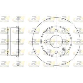 Bremsscheibe Bremsscheibendicke: 10mm, Lochanzahl: 4, Ø: 239,5mm mit OEM-Nummer 1629478
