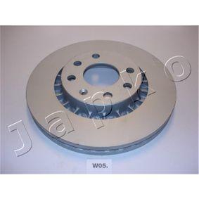 Bremsscheibe Bremsscheibendicke: 23,8mm, Ø: 255,8mm mit OEM-Nummer 961 622 49