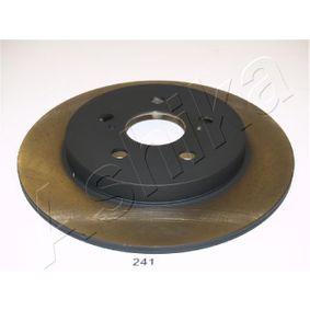 Bremsscheibe Bremsscheibendicke: 9mm, Ø: 259mm mit OEM-Nummer 42431 12310