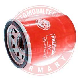 Ölfilter Ø: 66mm, Außendurchmesser 2: 62mm, Innendurchmesser 2: 54mm, Innendurchmesser 2: 54mm, Höhe: 90mm mit OEM-Nummer 0FE3-R1-4302