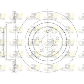 Bremsscheibe Bremsscheibendicke: 18mm, Lochanzahl: 5, Ø: 289,8mm mit OEM-Nummer 26700AE080