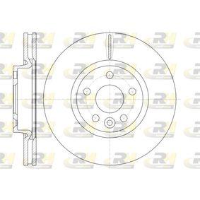 Bremsscheibe Bremsscheibendicke: 28mm, Lochanzahl: 5, Ø: 300mm, Ø: 300mm mit OEM-Nummer 3120232-7