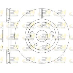 Спирачен диск 61050.10 M-класа (W164) ML 320 CDI 3.0 4-matic (164.122) Г.П. 2006