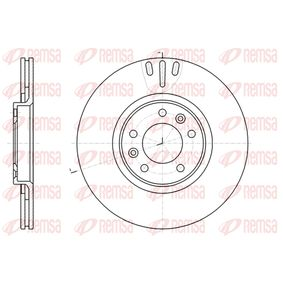 Bremsscheibe Bremsscheibendicke: 22mm, Lochanzahl: 5, Ø: 301,7mm, Ø: 301,7mm mit OEM-Nummer 424911
