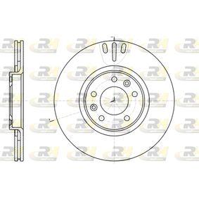 Bremsscheibe Bremsscheibendicke: 22mm, Lochanzahl: 5, Ø: 301,7mm, Ø: 301,7mm mit OEM-Nummer 4249 11