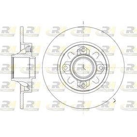 ROADHOUSE  61060.00 Bremsscheibe Bremsscheibendicke: 9mm, Lochanzahl: 4, Ø: 248,8mm