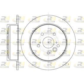 Brake Disc 61089.00 RAV 4 II (CLA2_, XA2_, ZCA2_, ACA2_) 2.4 4WD MY 2005