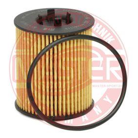Ölfilter Ø: 59mm, Innendurchmesser: 25mm, Innendurchmesser 2: 30mm, Höhe: 78mm mit OEM-Nummer 565 0316
