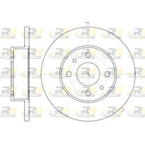 Bremsscheibe Bremsscheibendicke: 12mm, Lochanzahl: 4, Ø: 240mm mit OEM-Nummer 7 173 842 3