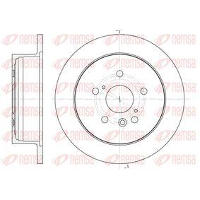 Bremsscheibe Bremsscheibendicke: 12mm, Lochanzahl: 5, Ø: 290,8mm mit OEM-Nummer 42431 28090