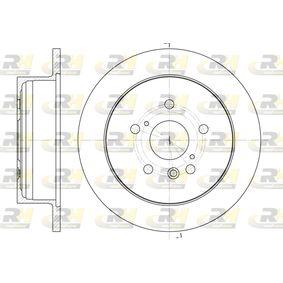 Bremsscheibe Bremsscheibendicke: 12mm, Lochanzahl: 5, Ø: 290,8mm mit OEM-Nummer 42431 28 090