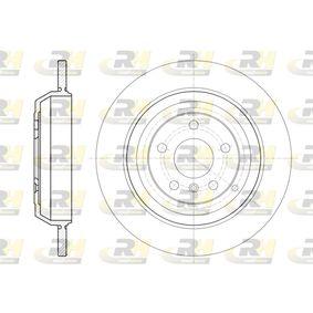 Спирачен диск дебелина на спирачния диск: 14мм, брой на дупките: 5, Ø: 330мм с ОЕМ-номер 1644231212