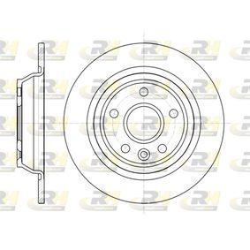 Bremsscheibe Bremsscheibendicke: 11mm, Lochanzahl: 5, Ø: 301,7mm, Ø: 301,7mm mit OEM-Nummer LR027123