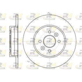 Bremsscheibe Bremsscheibendicke: 12mm, Lochanzahl: 4, Ø: 280mm mit OEM-Nummer 77.01.207.227
