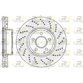 Disco freno Spessore disco freno: 32mm, N° fori: 5, Ø: 322mm, Ø: 322mm con OEM Numero A000 421 30 12