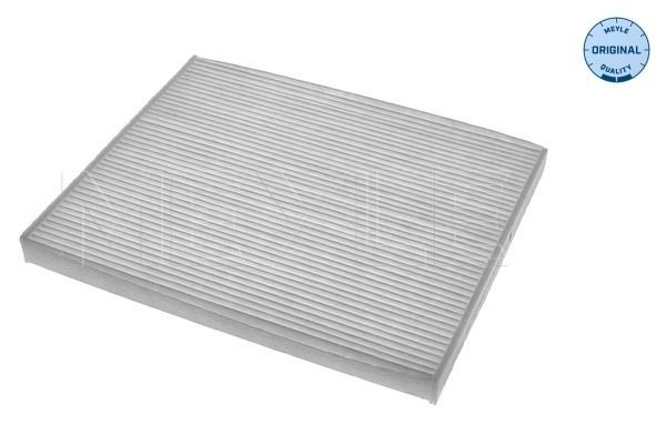 MEYLE  612 319 0016 Filter, Innenraumluft Länge: 265mm, Breite: 212mm, Höhe: 20mm
