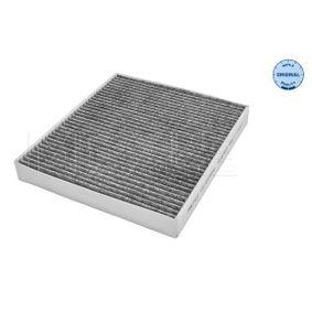Filter, Innenraumluft Länge: 272mm, Breite: 234mm, Höhe: 32mm mit OEM-Nummer 1718042