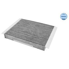 Filter, Innenraumluft Länge: 240mm, Breite: 209mm, Höhe: 30mm mit OEM-Nummer 1808527