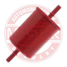 Kraftstofffilter Höhe: 137mm mit OEM-Nummer 44 08101