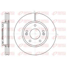 Brake Disc Brake Disc Thickness: 26mm, Num. of holes: 5, Ø: 280mm, Ø: 280mm with OEM Number 517 121 F300