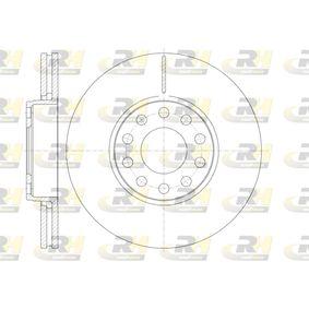 Bremsscheibe Bremsscheibendicke: 25mm, Lochanzahl: 10, Ø: 288mm mit OEM-Nummer 4B0.615.301B