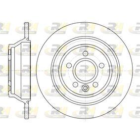 Bremsscheibe Bremsscheibendicke: 12mm, Lochanzahl: 5, Ø: 302mm mit OEM-Nummer 3076905-8