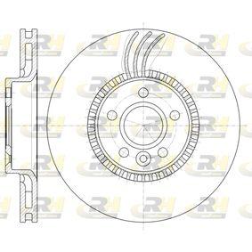 Bremsscheibe Bremsscheibendicke: 28mm, Lochanzahl: 5, Ø: 315,7mm, Ø: 315,7mm mit OEM-Nummer 1 380 046