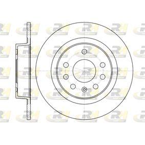 Bremsscheibe Bremsscheibendicke: 10mm, Lochanzahl: 7, Ø: 277,9mm mit OEM-Nummer 93 18 4247