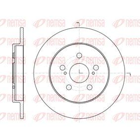 Bremsscheibe Bremsscheibendicke: 9mm, Lochanzahl: 5, Ø: 259mm, Ø: 259mm mit OEM-Nummer 42431 12 310