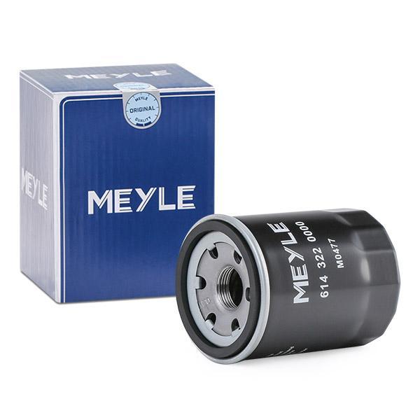 Ölfilter MEYLE 6143220000 Erfahrung