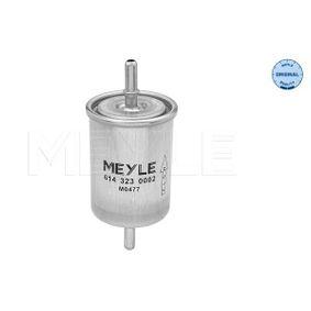 Kraftstofffilter Höhe: 136,5mm mit OEM-Nummer 6001543138
