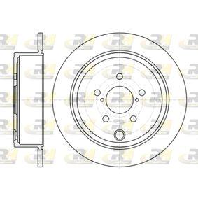 Subaru Impreza 3 2.5 WRX STI AWD (GRF) Bremsscheiben ROADHOUSE 61415.00 (2.5 WRX STI AWD (GRF) Benzin 2013 EJ257)