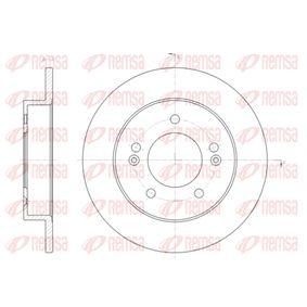 Bremsscheibe Bremsscheibendicke: 10mm, Lochanzahl: 4, Ø: 258mm, Ø: 258mm mit OEM-Nummer 58411 1P300