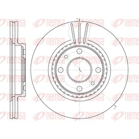 Bremsscheibe Bremsscheibendicke: 20,6mm, Lochanzahl: 4, Ø: 259mm, Ø: 259mm mit OEM-Nummer 230549