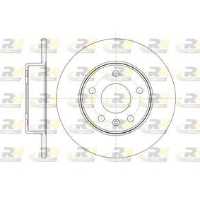 Bremsscheibe Bremsscheibendicke: 10mm, Lochanzahl: 5, Ø: 263,9mm, Ø: 263,9mm mit OEM-Nummer 91 17 772