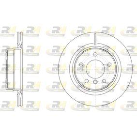 Brake Disc 61495.10 3 Saloon (F30, F80) 318d 2.0 MY 2014