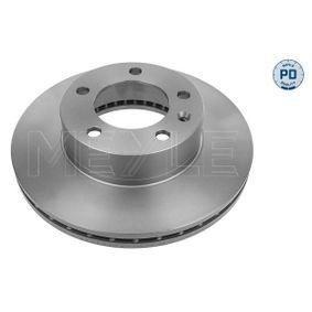 Bremsscheibe Bremsscheibendicke: 28mm, Lochanzahl: 5, Ø: 305,5mm mit OEM-Nummer 9 111 038