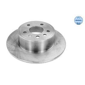 Bremsscheibe Bremsscheibendicke: 10mm, Lochanzahl: 5, Ø: 286mm mit OEM-Nummer 483 702 7