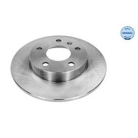 Bremsscheibe Bremsscheibendicke: 9,8mm, Lochanzahl: 5, Ø: 264mm mit OEM-Nummer 91 17 772