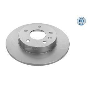 Bremsscheibe Bremsscheibendicke: 9,8mm, Lochanzahl: 5, Ø: 264mm mit OEM-Nummer 95526658