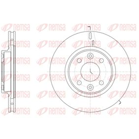 Brake Disc 61535 10 Clio 4 (BH_) 1.5 dCi 90 MY 2013