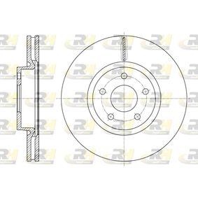 Tarcza hamulcowa Grubość tarczy hamulcowej: 28[mm], Ilość otworów: 5, Ø: 300[mm] z OEM Numer 1500159