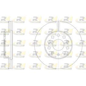 Bremsscheibe Bremsscheibendicke: 23,5mm, Lochanzahl: 9, Ø: 276mm, Ø: 276mm mit OEM-Nummer JZW 615 301 H