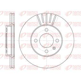 Bremsscheibe Bremsscheibendicke: 20mm, Lochanzahl: 4, Ø: 256mm, Ø: 256mm mit OEM-Nummer 6N0 615 301 D